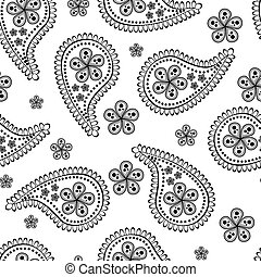 seamless paisley wallpaper