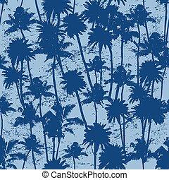 seamless Palm trees pattern