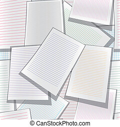 Seamless paper web site business or