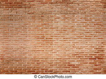 seamless, pared ladrillo, textura