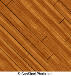 Seamless Parquet Wooden Flooring Background Oak Planks