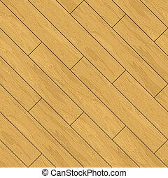 Seamless Parquet Wooden Flooring Background Oak Planks