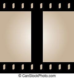 seamless, pas, wektor, film