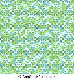 seamless, pastel farve, mønster, kløvere