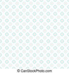 Seamless pastel pink and green retro pattern wallpaper background