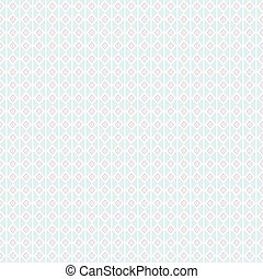 Seamless pastel pink and green rhombus pattern background