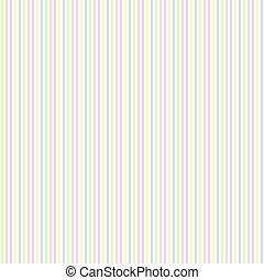 Seamless Pastel Stripes - Small scale pastel stripes on...