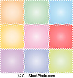 Seamless patchwork or quilt pastel