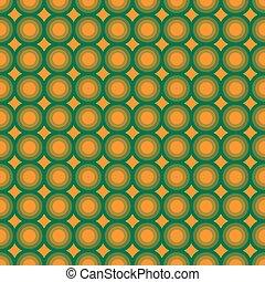 seamless, patrón, con, círculos concéntricos