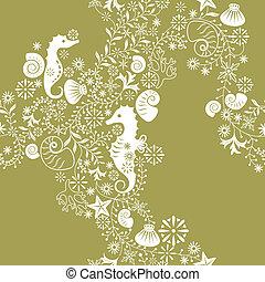 seamless, patrón floral, 2
