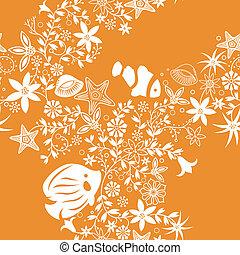 seamless, patrón floral, 5