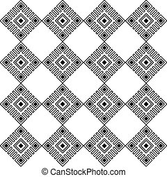seamless, patrón geométrico