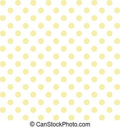 seamless, patrón, lunares, pastel