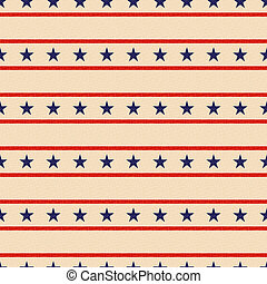 seamless, patriótico, estrelas, fundo