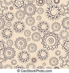 seamless, patrones florales