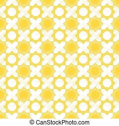 Seamless pattern 21 geometric sketch yellow-blue