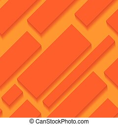 Seamless Pattern - Abstract Background with Mosaic of Squares