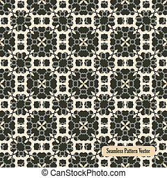 seamless pattern abstract floral