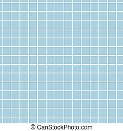 seamless pattern. blue ceramic tile.