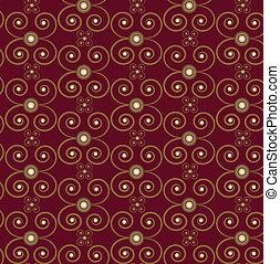 Seamless pattern brown background
