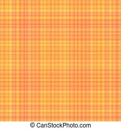 Seamless Pattern Checkered Yellow Backdrop.