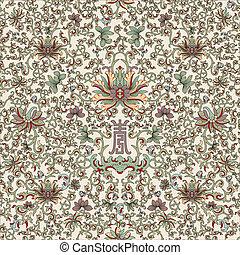 Seamless pattern chinese