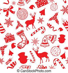 Seamless Pattern Christmas background