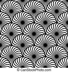 Seamless pattern circle elements.