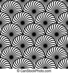 Seamless pattern circle elements. - Seamless pattern with ...