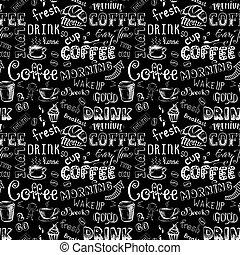 Seamless pattern Coffee