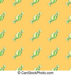 Seamless pattern colorful candies.