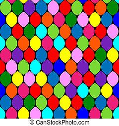 Seamless pattern colorful circles