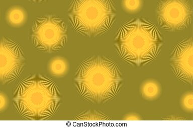 Seamless pattern coltsfoot graphic, vector