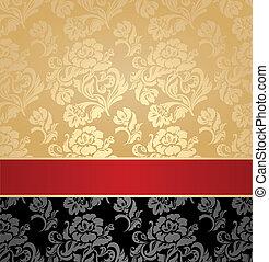 Seamless pattern, decorative