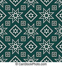 Seamless pattern - Decorative geometric seamless pattern...