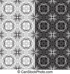 Seamless pattern for a fabric, pape
