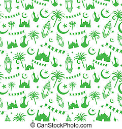 Seamless pattern for Eid