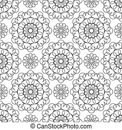 Seamless pattern for your design
