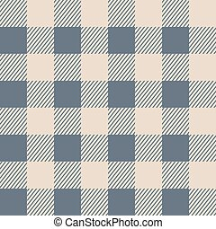 Seamless pattern. Gray cell on a beige background. Vector illustration.