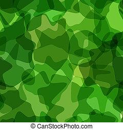 Seamless pattern green camouflage. Vector illustration
