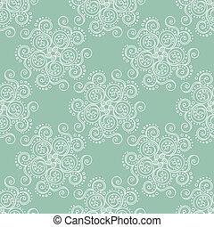 Seamless pattern green