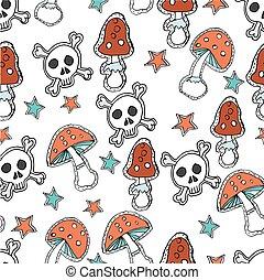 seamless pattern. Halloween concept.