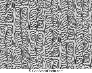Seamless pattern imitation of sweater fabric - Simple, woven...