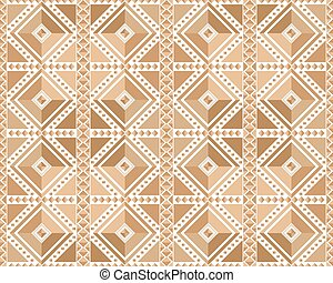 Seamless pattern in brown