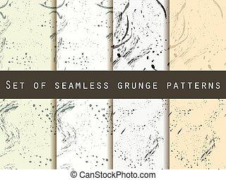 Seamless pattern in grunge style.