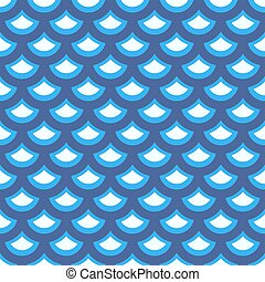 Seamless pattern in marine style.