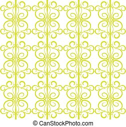 Seamless pattern in the form of forged lattice
