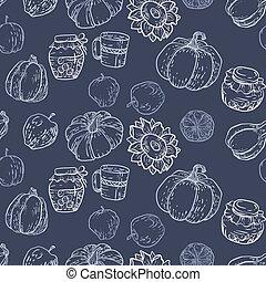 Seamless pattern in vector illustration