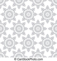 Seamless pattern in vintage style. Vector background for textile design.