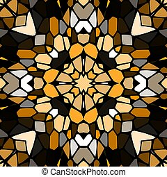 Seamless pattern kaleidoscopic texture background